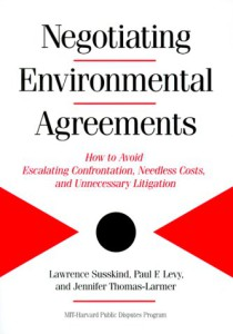 Negotiating Environmental Agreements